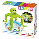 Надувной детский бассейн Intex 57115 (102х104 см.) объём 45 л., фото 2