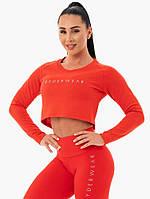 Спортивная кофта Staples Cropped Sweater – Red
