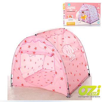 Детская палатка MR 0034 розовая
