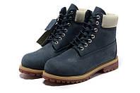Ботинки мужские Timberland 6-inch Waterproof Boots Dark Blue, фото 1