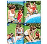 """Детский каркасный бассейн Intex 56451 """"Пляж на мелководье"""" (152х25 см.) объем 443 л. + 10 шариков, фото 7"""