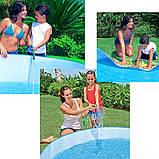"""Детский каркасный бассейн Intex 56451 """"Пляж на мелководье"""" (152х25 см.) объем 443 л. + 10 шариков, фото 8"""