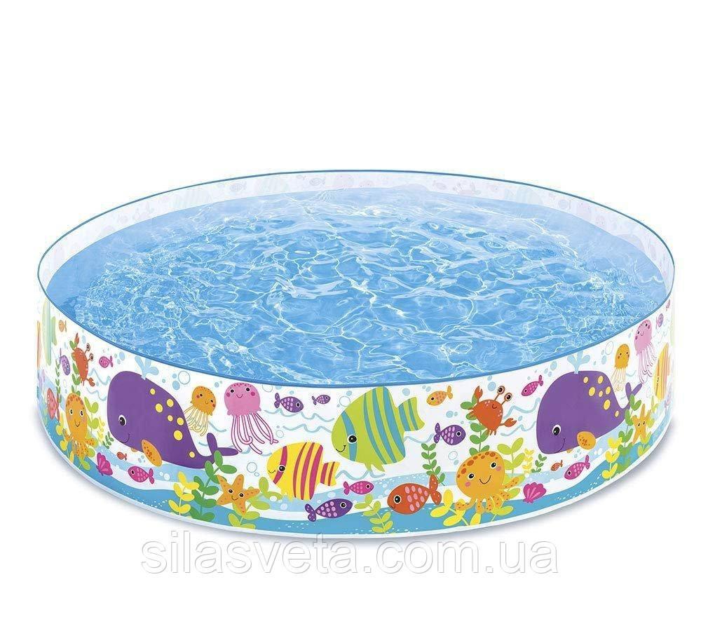 "Детский каркасный бассейн Intex 56452 ""Океан"" (183х38 см.) объем 958 л."