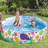"Детский каркасный бассейн Intex 56452 ""Океан"" (183х38 см.) объем 958 л., фото 7"