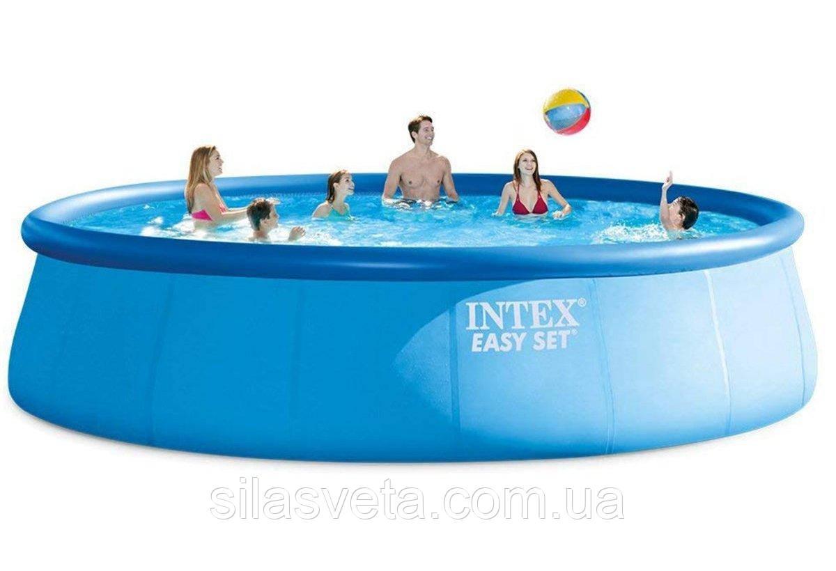 Надувной семейный бассейн, Intex 26176 (549х122 см.) объем 20647 л.