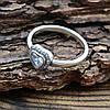 Серебряное кольцо ТС510290 вставка белые фианиты вес 3.0 г размер 18.5, фото 6