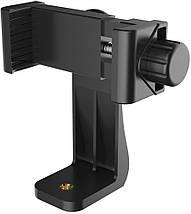 Поворотный держатель холдер Ulanzi для телефона под штатив или кольцевую лампу, фото 3