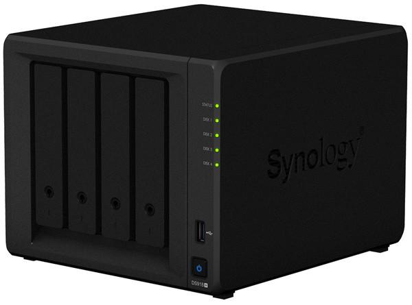 Сетевое хранилище NAS Synology  DS918+