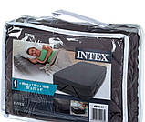 Надувная двухместная кровать со встроенным эл.насосом Intex 64448-2 (152х236х46 (86) см.) + подушки, фото 8