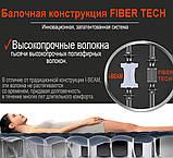Надувной двухместный матрас Intex 64144-3 (183x203x25 см.) + насос, 2 подушки, наматрасник., фото 8