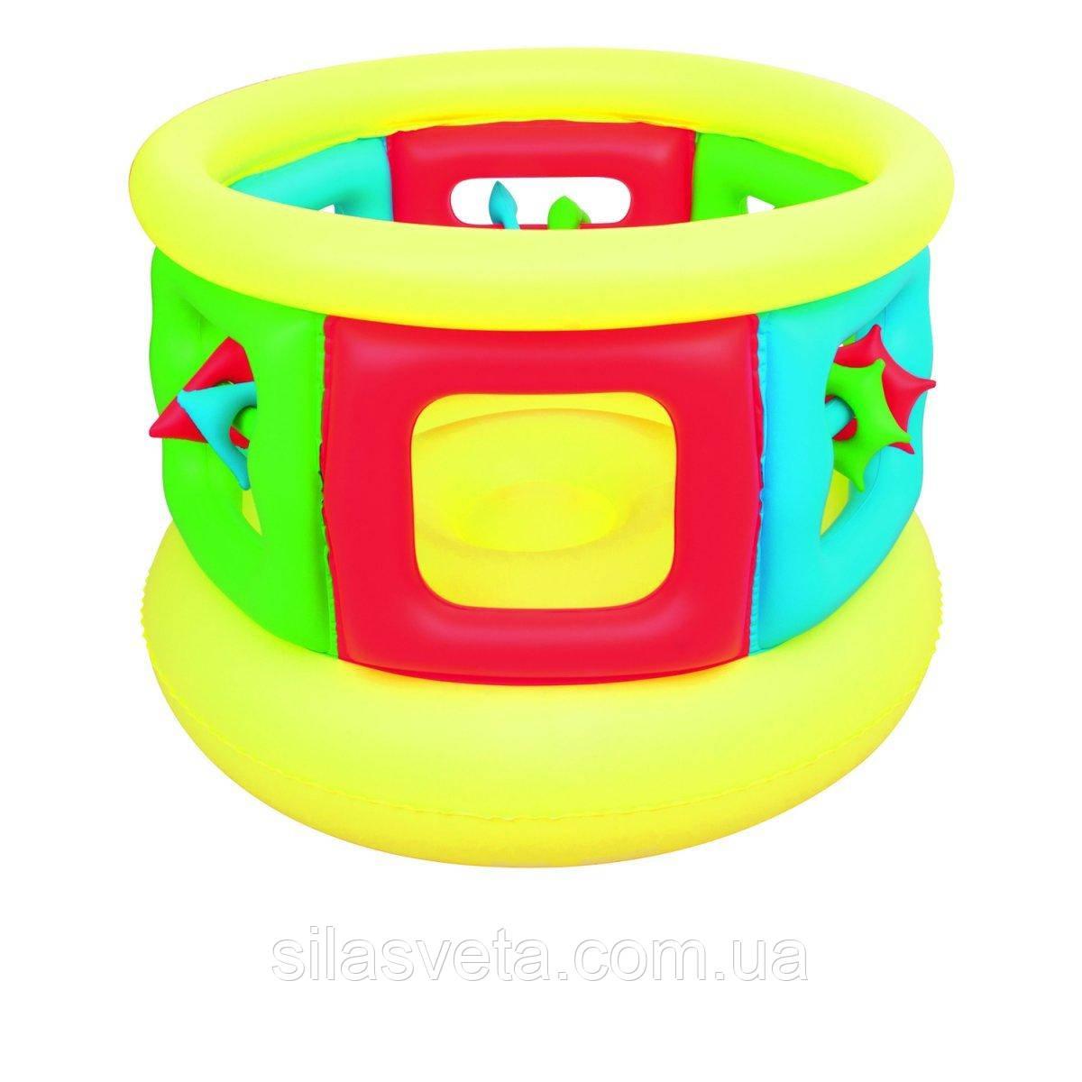 Детский надувной центр-манеж с игрушками, Bestway 52056 (152х107 см.)