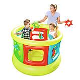 Детский надувной центр-манеж с игрушками, Bestway 52056 (152х107 см.), фото 2