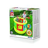 Детский надувной центр-манеж с игрушками, Bestway 52056 (152х107 см.), фото 4