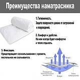 Надувной одноместный матрас 64757-3 Classic Downy (99x191x25 см.) + насос, наматрасник и подушка, фото 5