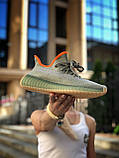 """Стильні кросівки Adidas Yeezy Boost 350 V2 """"DESAGE"""", фото 2"""
