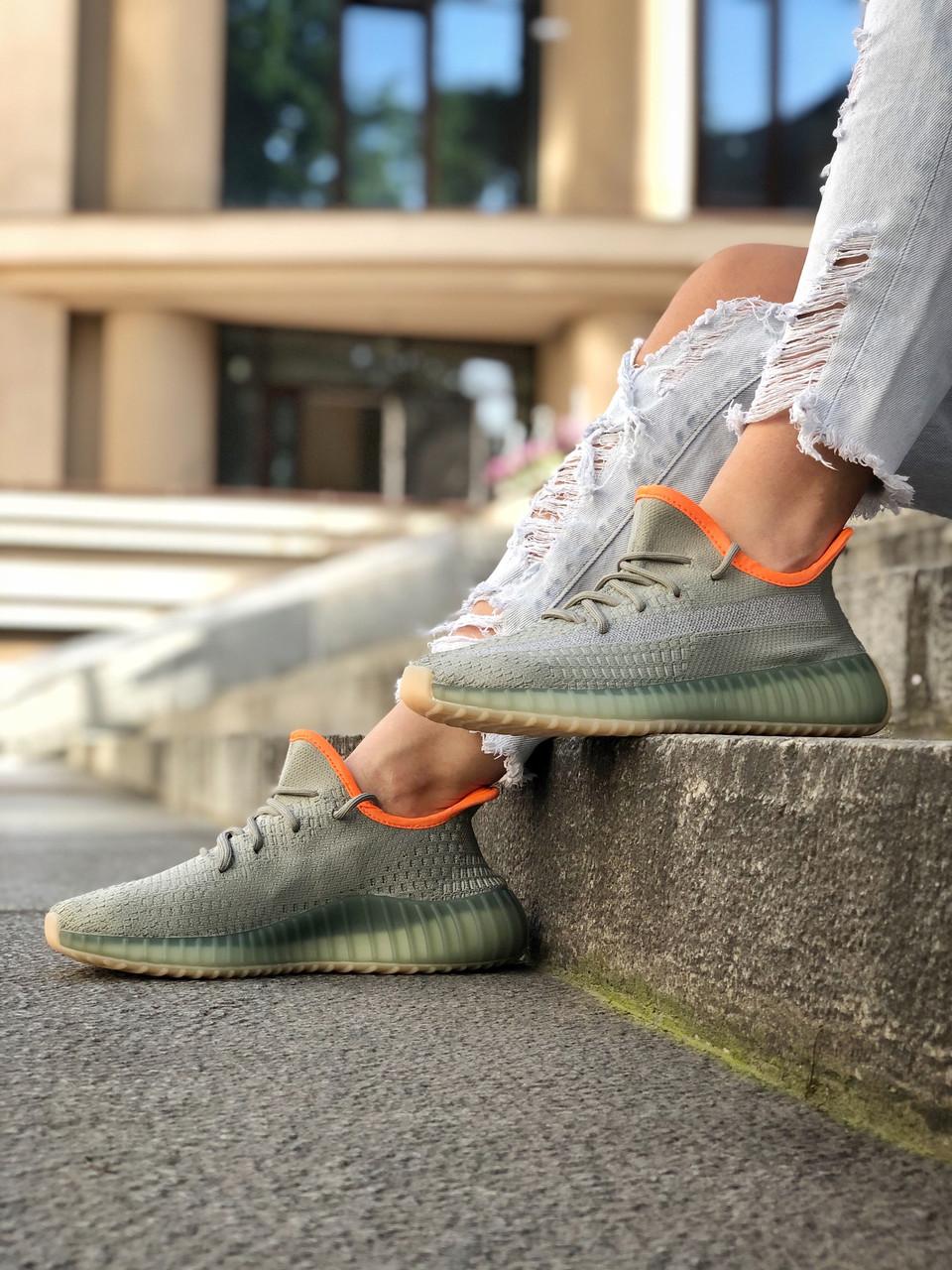 "Стильні кросівки Adidas Yeezy Boost 350 V2 ""DESAGE"""