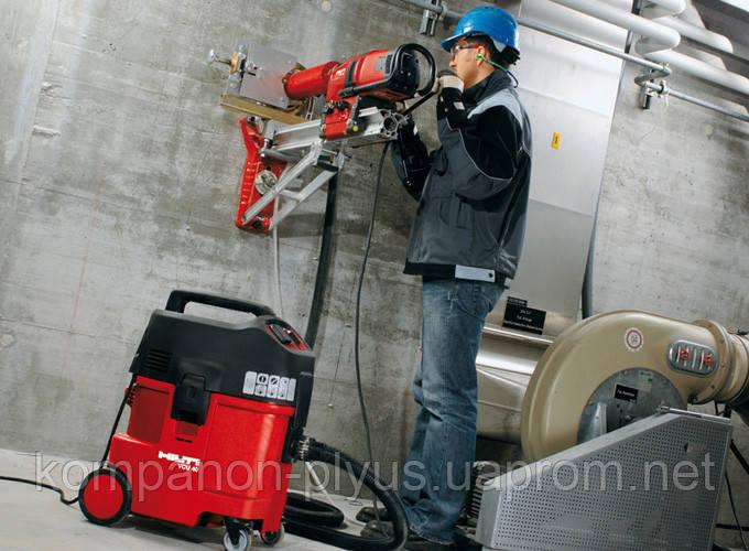Сверление отверстий резка бетона без пыли