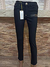 Жіночі джинси однотонні Чорний