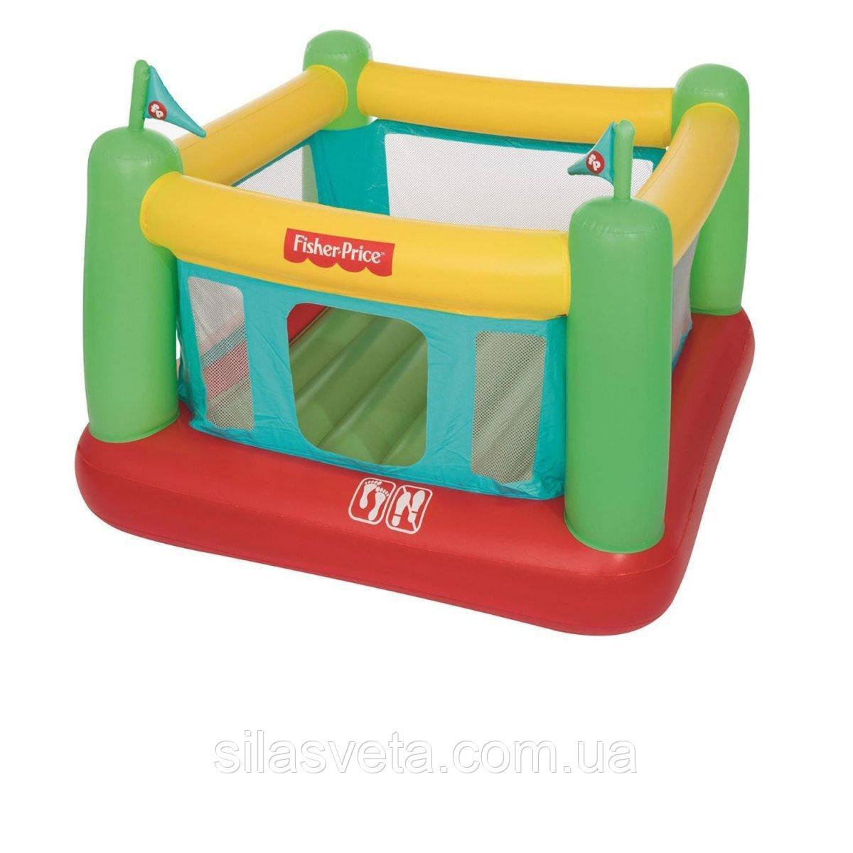 Детский игровой центр-батут со встроенным насосом, Bestway 93533 (175х173х135 см.) + 50 шариков.