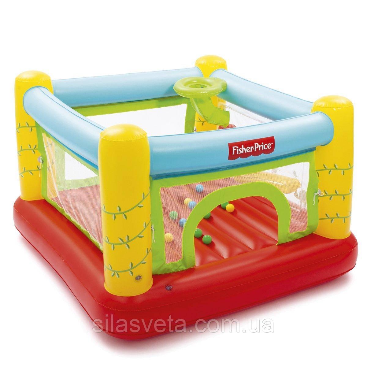 Детский надувной игровой центр-батут Bestway 93542 (175х173х114 см.) + 25 шариков