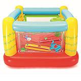 Детский надувной игровой центр-батут Bestway 93542 (175х173х114 см.) + 25 шариков, фото 3
