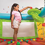 Детский надувной игровой центр-батут Bestway 93542 (175х173х114 см.) + 25 шариков, фото 6