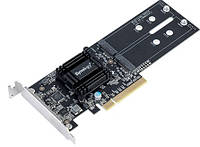 Адаптер Synology PCIe 2.0 NVMe SSD Cache Upgrade Card со слотами M.2 SSD