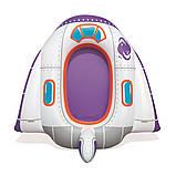 """Надувний дитячий пліт Bestway 34106 """"Космічний корабель"""" (104х99 см.), фото 2"""