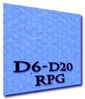 Игровое поле (коврик) для ролевых игр (гекс-море) (60х66) () настольная игра