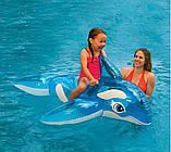 """Детский надувной плотик Intex 58523 """"Дельфин"""" (152х114 см.), фото 5"""
