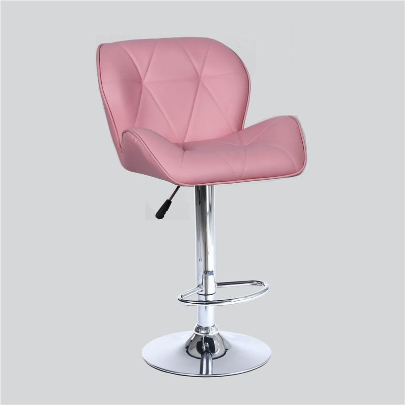 Стул барный хокер Homart DM-854 розовый (9239)