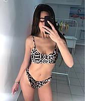 Женский купальник Leopard размер M
