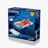 Надувной одноместный матрас-плот  Bestway 43156 Cooler Z (160х86 см.), фото 6