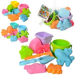 Детский игровой набор Metr+ для песочницы, 8 предметов