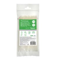 Кабельний хомут (стяжка) 150x3,6 (100 шт.) колір білий IMT46254