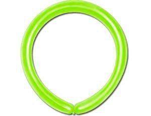Воздушные шары Поштучно GEMAR ШДМ 260-2 /11 Пастель Салатовый (Light green)