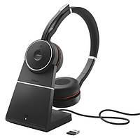 Беспроводная Bluetooth гарнитура Jabra EVOLVE 75 MS Stereo + База, фото 1