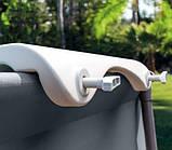Складывающаяся скамейка для бассейна (пластик), Intex 28053, фото 5