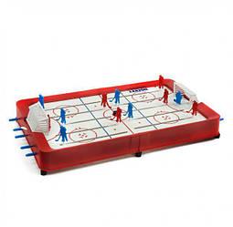 Хоккей настольный для взрослых и детей с шайбой MToys
