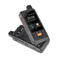 Телефон кнопочный с большим дисплеем и мощной батареей на 1 сим карту Uniwa ALPS F50 black Рация