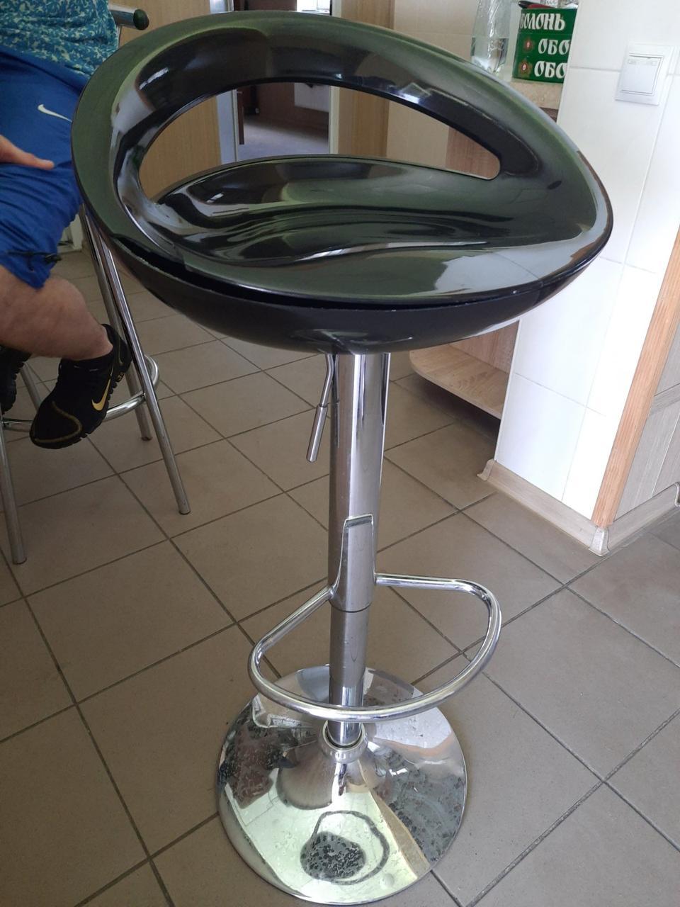Барный стул Торре черный, стул для визажиста, hoker от SDM Group, пластик