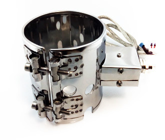 Алюмінієвий полухомутовий нагрівач 240 * 240 мм, 3000 Вт / 220 В