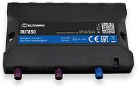 Автомобильный 4G/Wi-Fi маршрутизатор Teltonika RUT850 с GPS-приёмником и антенной (RUT850GPS), фото 1