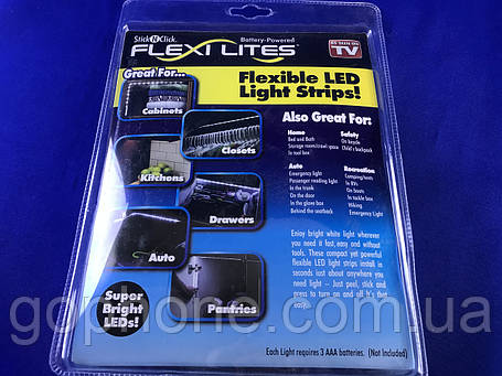 LED Лента С ПодсветкойFlexi Lites Stick, фото 2