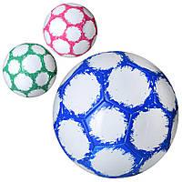 Мяч футбольный EV 3323  размер 5, ПВХ 1,8мм, 32панели, 300-320г, 3 цвета