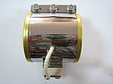 Нагр. плоский міканіт. 390 * 180 мм, 2500 Вт / 400 В, клемна колодка, закрита коробом, ескіз, фото 4