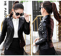 Жіноча шкіряна куртка. Модель 2031, фото 4