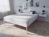 Кровать MELBI Элис Двуспальная 140х200 см Розовый, КОД: 1391214