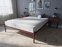 Кровать MELBI Элис Двуспальная 180х190 см Бордовый лак, КОД: 1391314