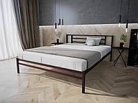Кровать MELBI Берта Двуспальная 120190 см Бордовый лак КМ-023-02-5бор, КОД: 1394037